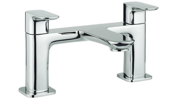 A H-shaped bath filler from Britton.