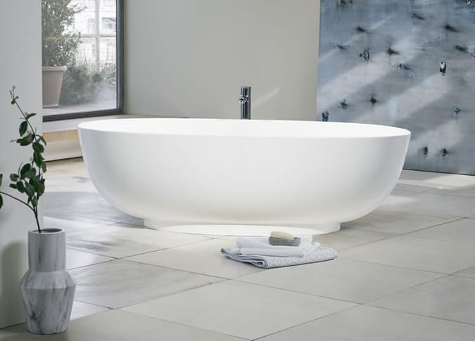 A Puro freestanding bath from Clearwater.