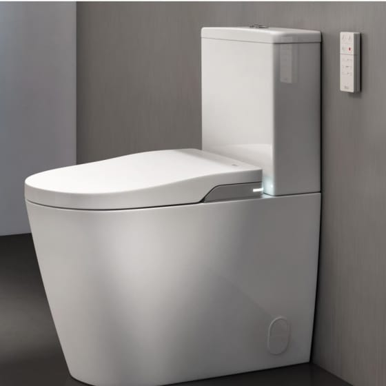 Image of Roca Inspira In-Wash Close Coupled Bidet Toilet