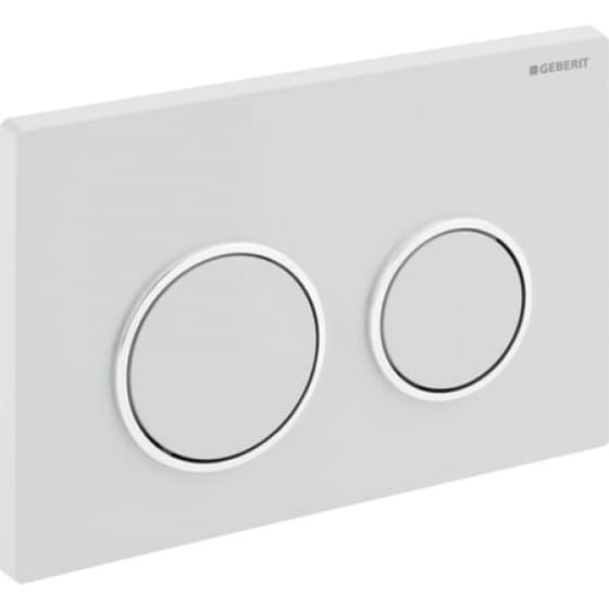 Image of Geberit Omega20 Dual Flush Plate