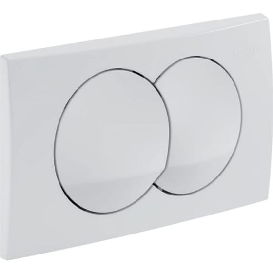 Image of Geberit Delta20 Dual Flush Plate