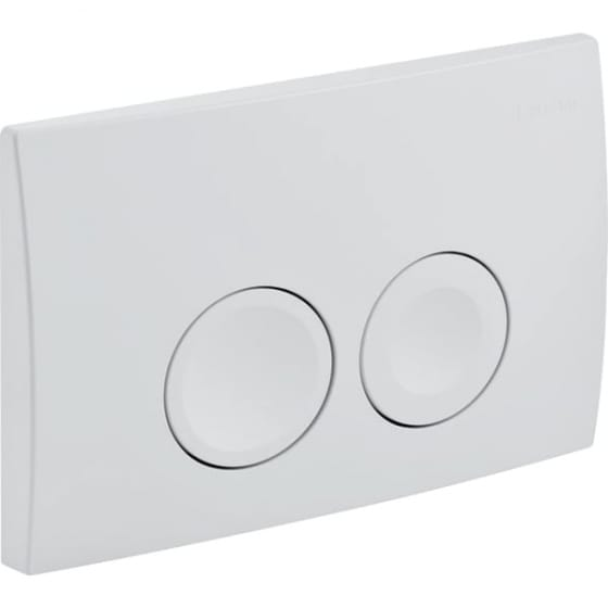 Image of Geberit Delta21 Dual Flush Plate