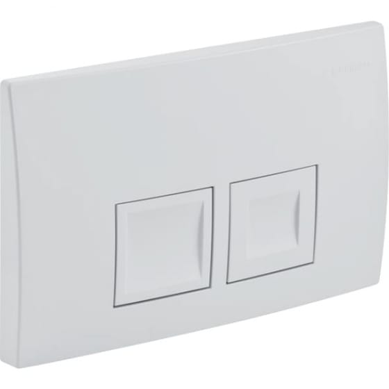 Image of Geberit Delta50 Dual Flush Plate