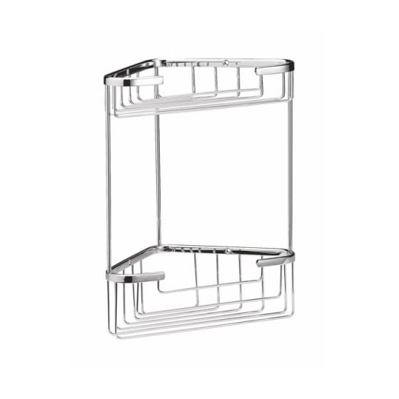 Image of BC Designs Victrion Double Corner Shower Basket