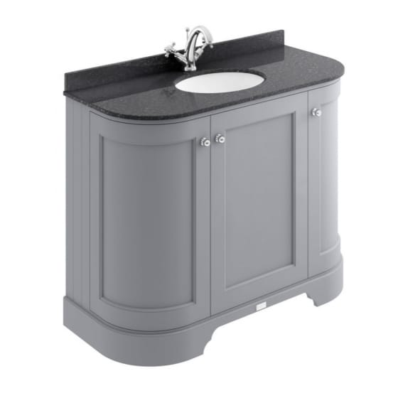 Image of Bayswater Curved Basin Cabinet