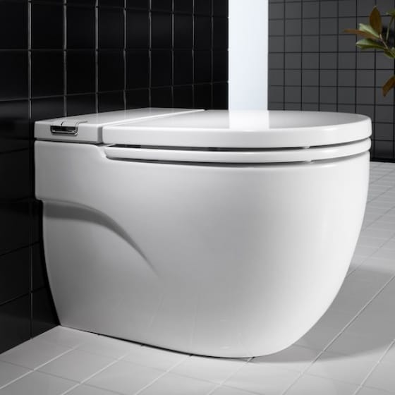 Image of Roca Meridian-N In-Tank Back To Wall Toilet