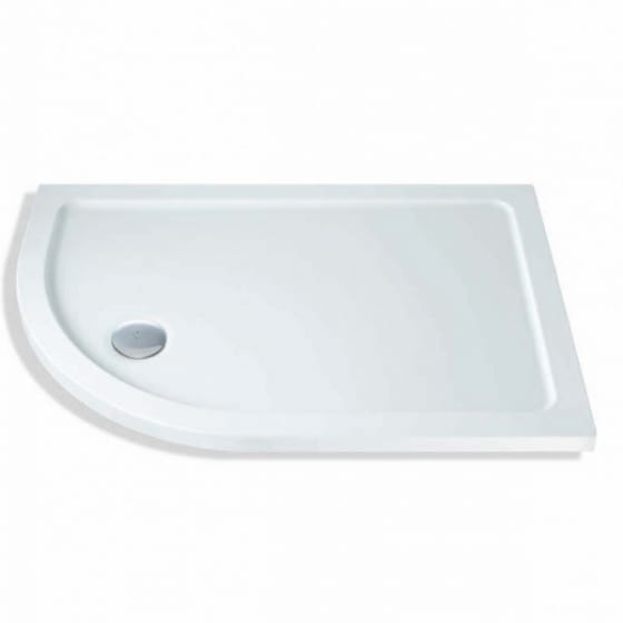 Image of MX Group Elements Offset Quadrant Shower Tray