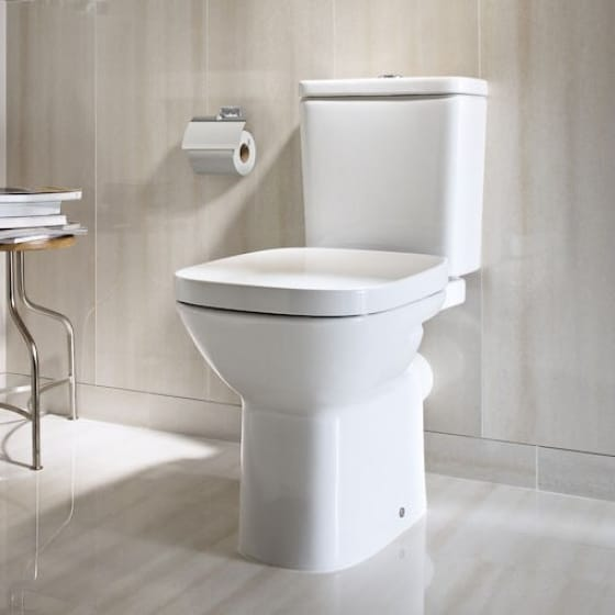Image of Roca Debba Open Back Close Coupled Toilet