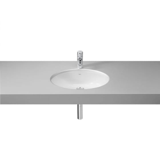 Image of Roca Neo Selene Under Countertop Inset Basin
