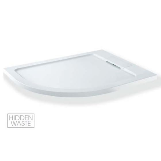 Image of MX Group Expressions Offset Quadrant Shower Tray