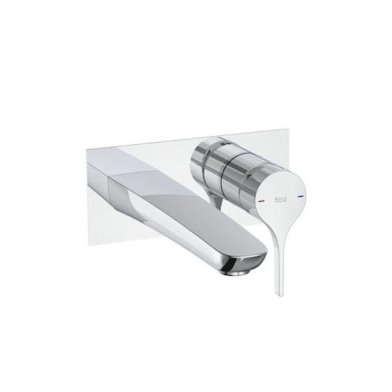 Image of Roca Insignia Wall Mounted Basin Mixer Tap