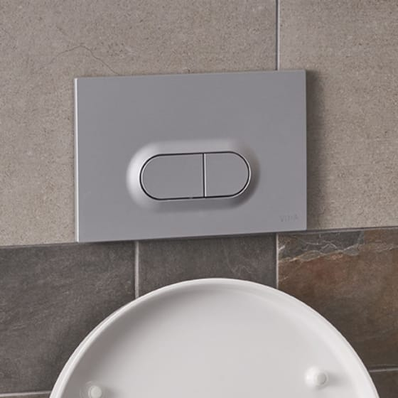 Image of Vitra Loop O Dual Flush Plate
