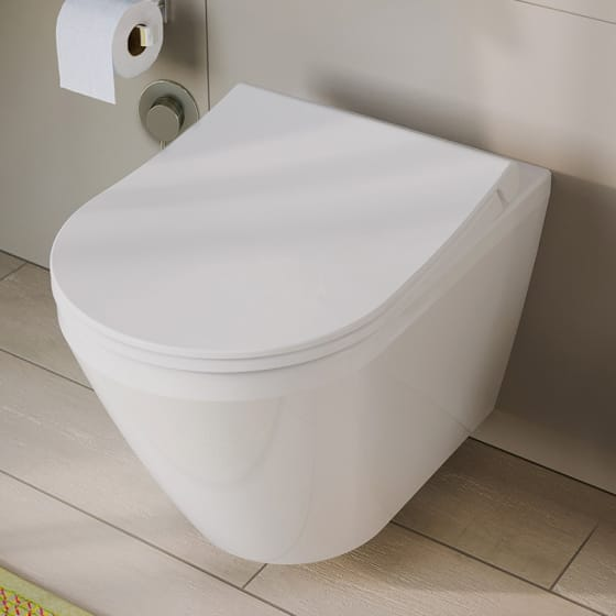 Image of Vitra Integra Aquacare Wall-Hung WC