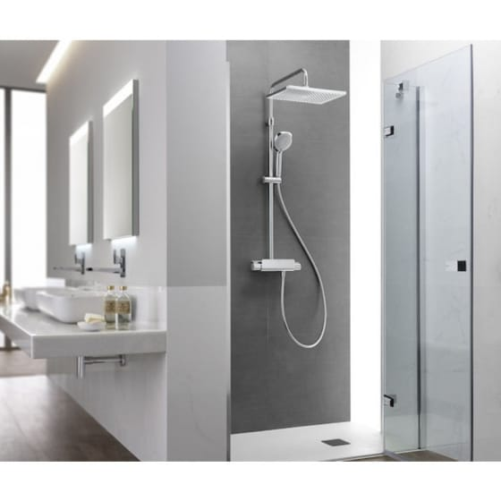 Image of Roca Deck-T Thermostatic Shower Column
