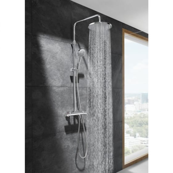 Image of Roca Even-T Thermostatic Shower Column