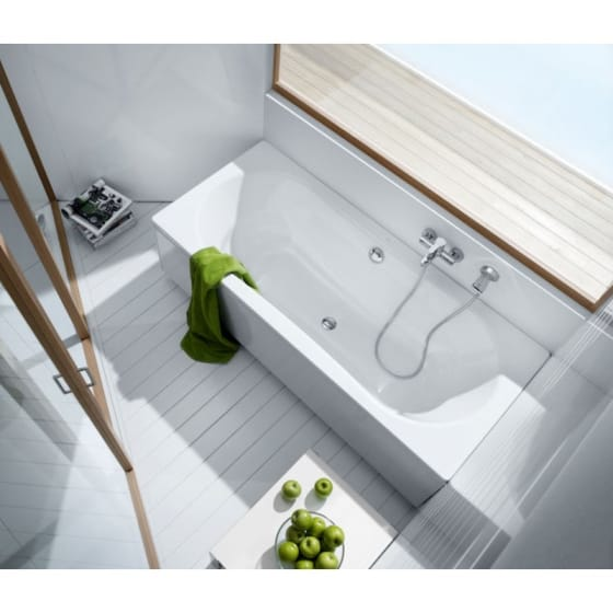 Image of Roca Duo Plus Steel Double Ended Bath