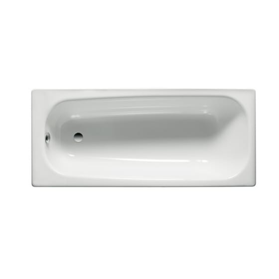 Image of Roca Contesa Steel Single Ended Bath