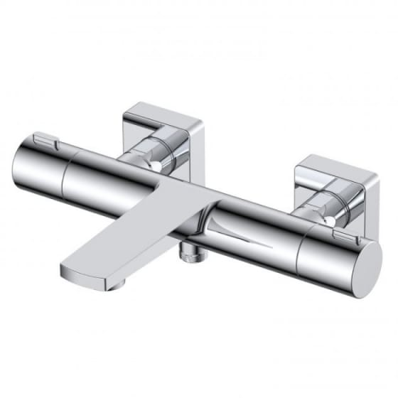 Image of RAK Blade Wall Mounted Thermostatic Bath Shower Mixer