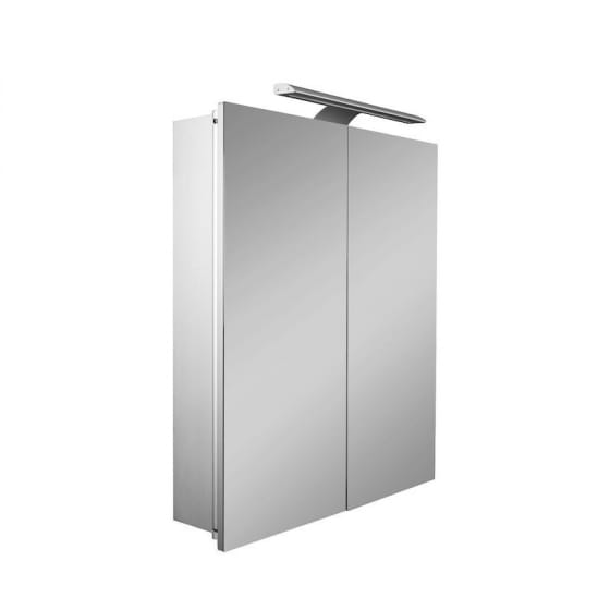 Image of Roca Sol Mirror Wall Cabinet With LED Lighting