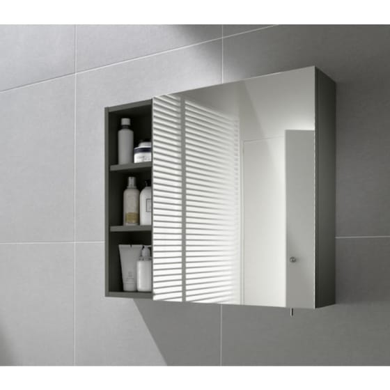 Image of Roca Luna Mirror Wall Cabinet