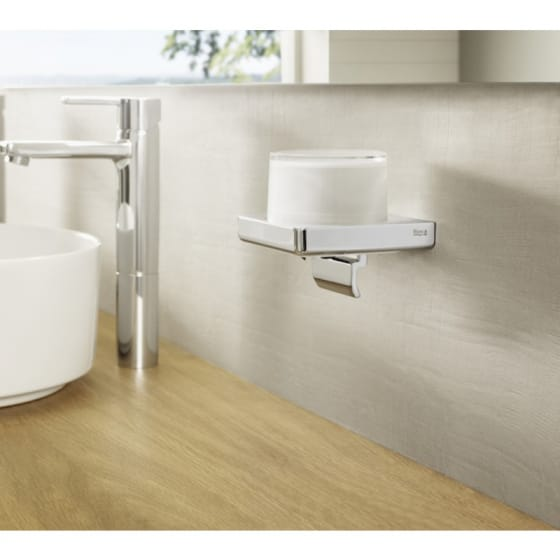 Image of Roca Tempo Wall Mounted Soap Dispenser