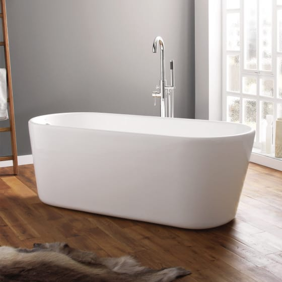 Image of April Brearton Contemporary Freestanding Bath