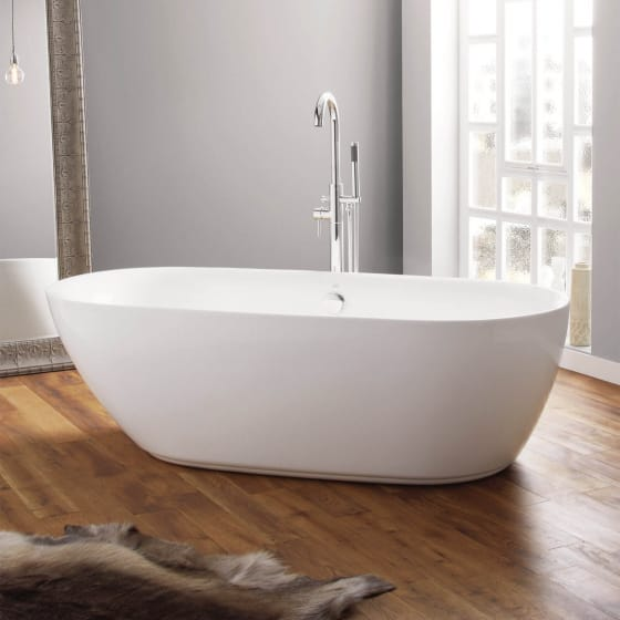 Image of April Cayton Contemporary Freestanding Bath
