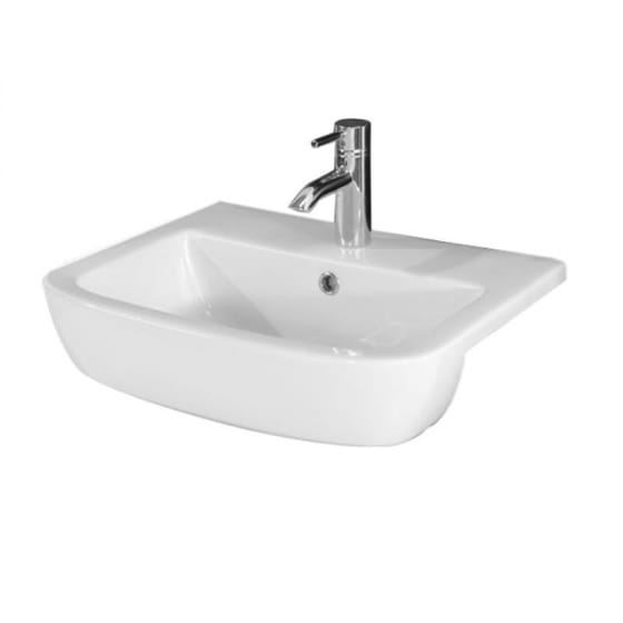 Image of Essential Orchid Semi Countertop Basin