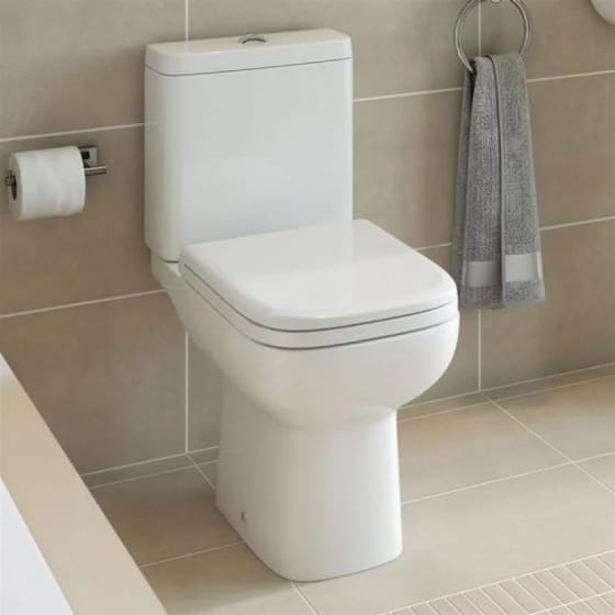 Image of Essential Violet Close Coupled WC