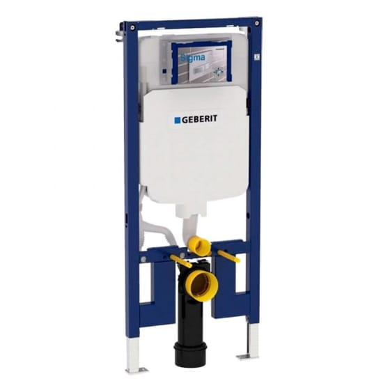 Image of Geberit Duofix WC Frame with 8cm Sigma Cistern