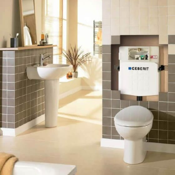 Image of Geberit Sigma Concealed Cistern for Back to Wall WC