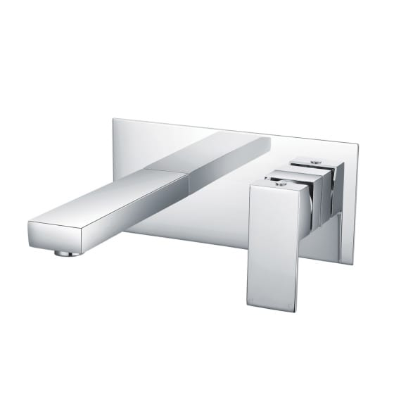 Image of Essential Edgeware Wall Mounted Basin Mixer