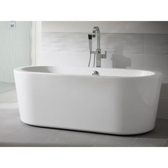 Image of Essential Pebble Freestanding Bath