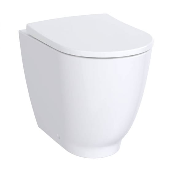 Image of Geberit Acanto Back to Wall Pan