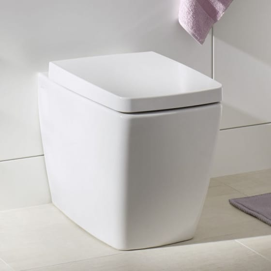 Image of Vitra M-Line Back to Wall Toilet