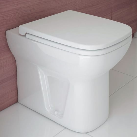 Image of Vitra S20 Back to Wall Toilet