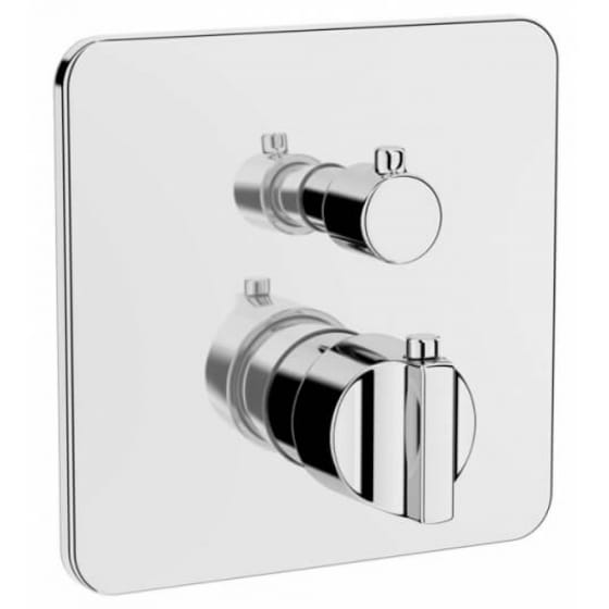 Image of Vitra Suit L Built-In Thermostatic Bath/Shower Mixer