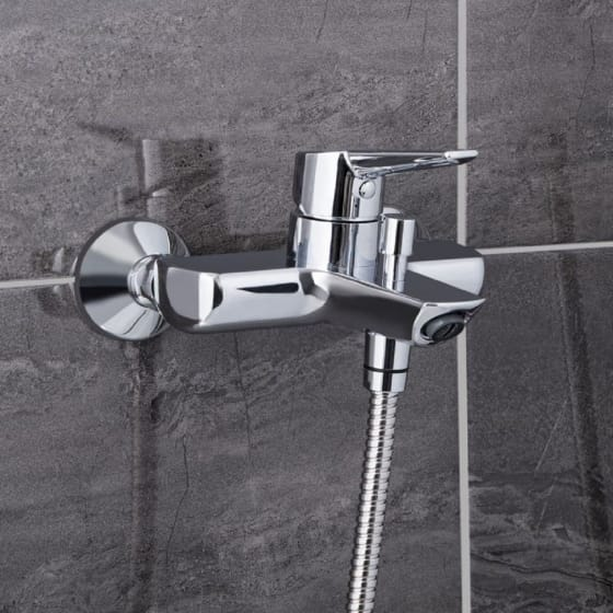 Image of Vitra Solid S Bath/Shower Mixer