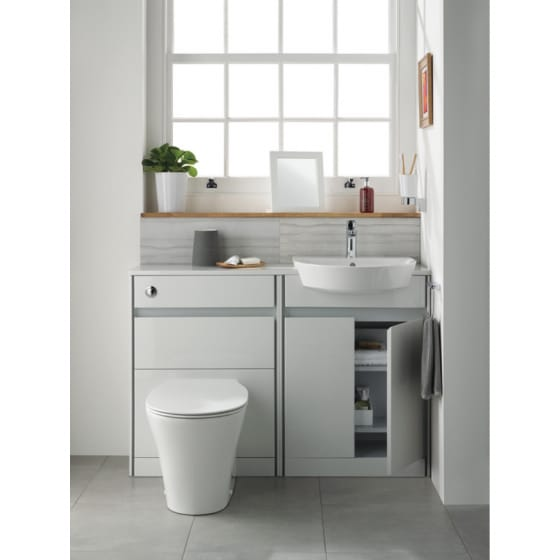 Image of Ideal Standard Concept Air Cube Back to Wall Toilet