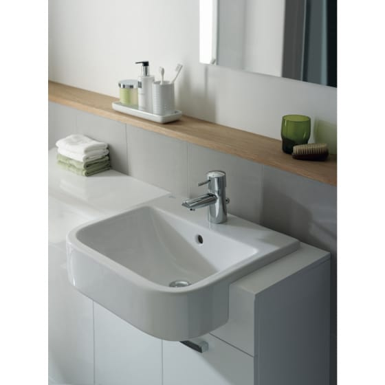 Image of Ideal Standard Concept Cube Semi Countertop Basin