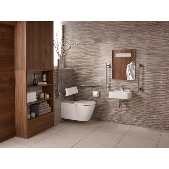 Image of Ideal Standard Concept Freedom Elongated Wall Hung Toilet