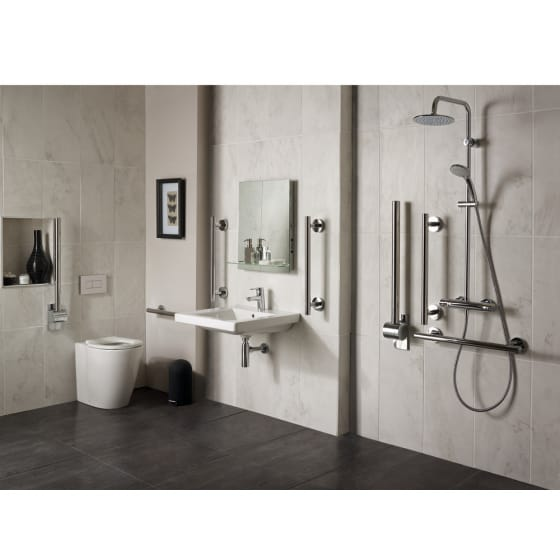 Image of Ideal Standard Concept Freedom Back to Wall Raised Height Toilet
