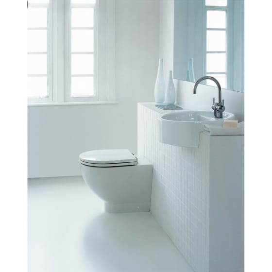 Image of Ideal Standard White Back to Wall Toilet