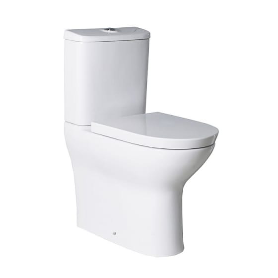 Image of Roca Colina Comfort Height Close Coupled WC With Soft Close Seat