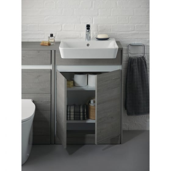 Image of Ideal Standard Concept Air Floor Standing Semi Countertop Unit