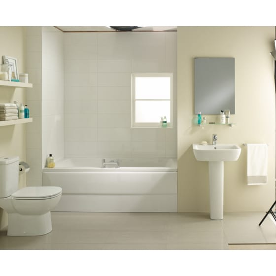 Image of Ideal Standard Tempo Arc Idealform Plus Double Ended Bath
