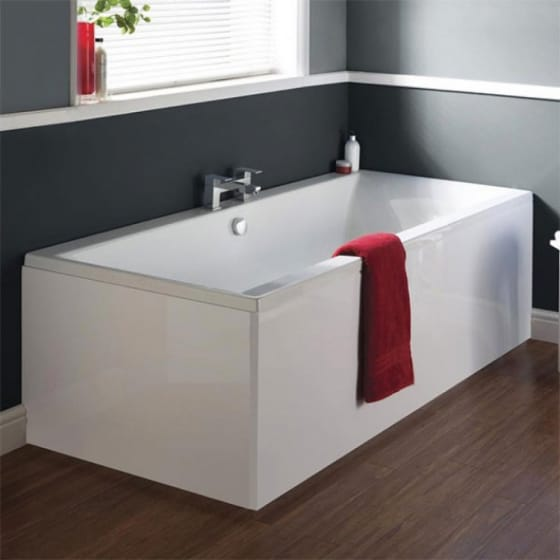 Image of Ideal Standard Tempo Cube Idealform Plus Double Ended Bath