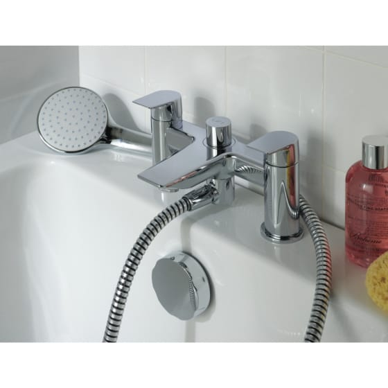 Image of Ideal Standard Tesi Dual Control Bath Filler