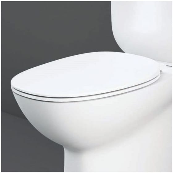 Image of RAK Moon Soft Close Quick Release Toilet Seat