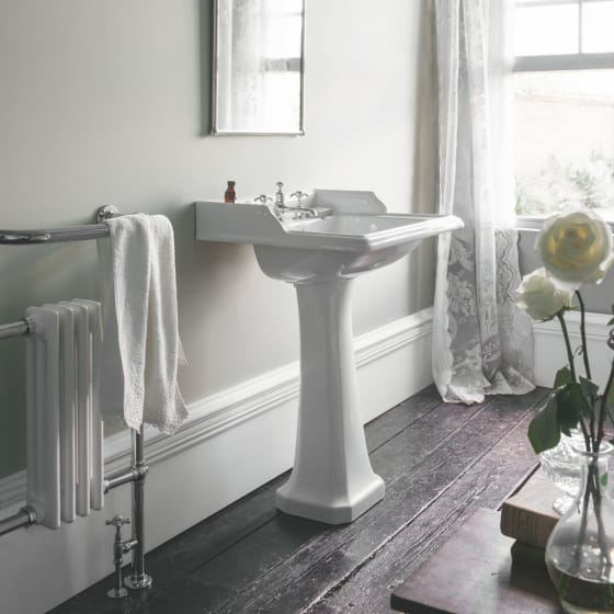 Image of Burlington Classic 650mm Rectangular Basin